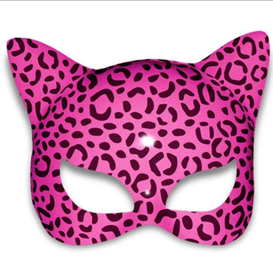 Máscara Gatinha - Estampada - Pink