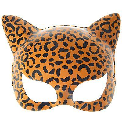 Máscara Gatinha - Estampada - Laranjado