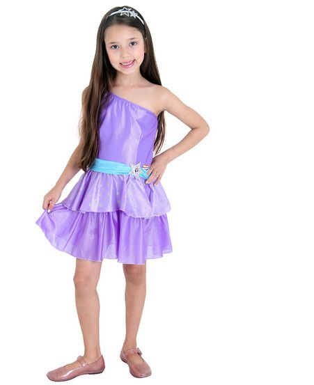 Fantasia Barbie Pop Star Pop - Infantil