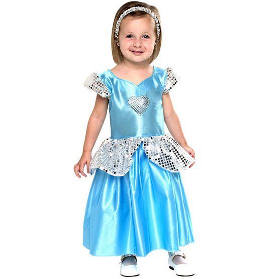 Fantasia Princesa Cristal Bebê