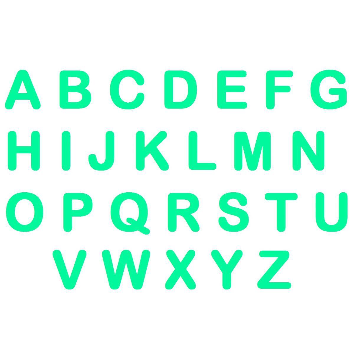Letras em EVA - Tiffany