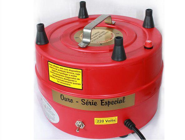 Compressor de Ar para Inflar Balões 4 Bicos - Bonus Infladores