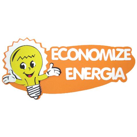 Painel Decorativo Economize Energia E.V.A