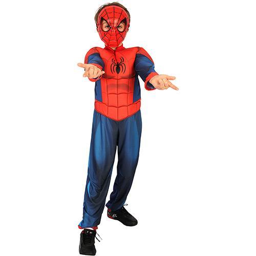Fantasia Homem Aranha Infantil - Longa - Luxo