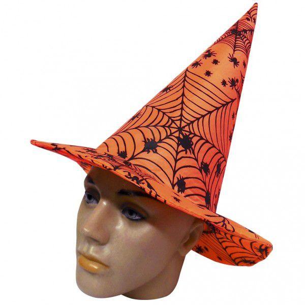 Chapéu de Bruxa Estampado - Halloween