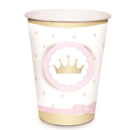 Copo Papel Reinado Princesa
