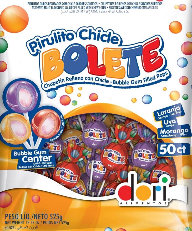PIRULITO BOLETE SORTIDO