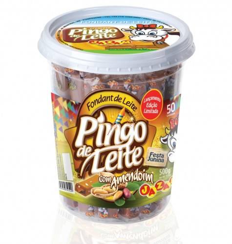 Pingo De Leite Com Amendoin