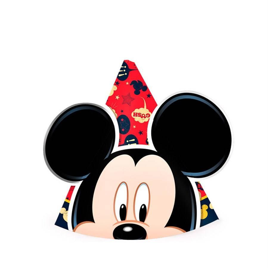 Chapéu Mickey Clássico - 8 unidades