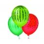 Balão Decorado Melancia - 25 unidades