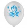 Balão Frozen Anna e Elsa - 9 Polegadas - 25 Unidades