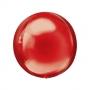 Balão Metalizado 4D Esfera Vermelha