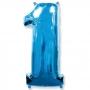 Balão Metalizado Azul Número 1 - 1 Metro