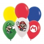 Balão Super Mario - 12 Polegadas - 12 Unidades