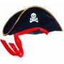 Chapéu de Pirata Luxo em Veludo
