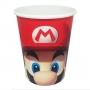 Copo de Papel Super Mario - 240ml - 8 Unidades