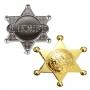 Estrela de Xerife de Plástico para Fantasias
