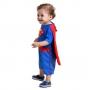 Fantasia Super Homem Infantil para Bebê com Capa