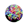 Lança Confete Neon Colorido - 40cm