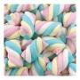 Marshmallow Torção Colorido Fini - 250g