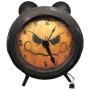 Relógio Decoração de Halloween Assustador com Som e Luz