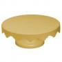 Boleira Suporte para Bolo Dourado Médio - 30cm