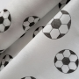 Tnt Estampado Bola Futebol Branco com Preto - 5 Metros