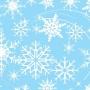 Tnt Estampado Flocos de Neve - 5 Metros