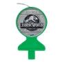 Vela de Aniversário Jurassic World Plana
