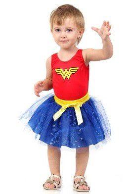 Fantasia Mulher Maravilha Bebê - Dress Up