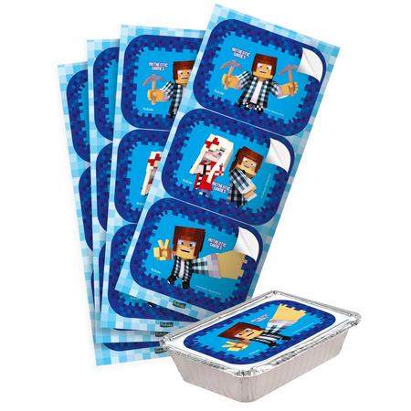 Adesivo Authentic Games para Marmitinha - 12 Unidades