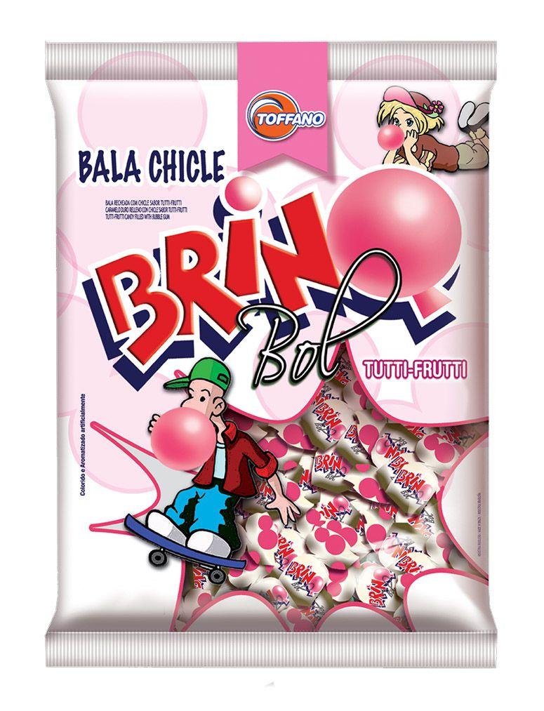 Bala Chicle Brinq Bol 600g