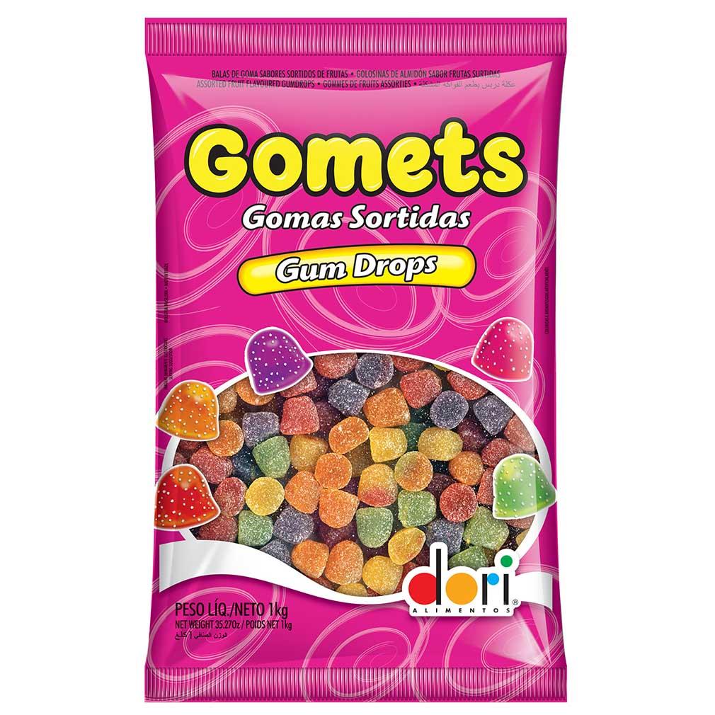 Bala de Goma Gomets Sortida - 1Kg