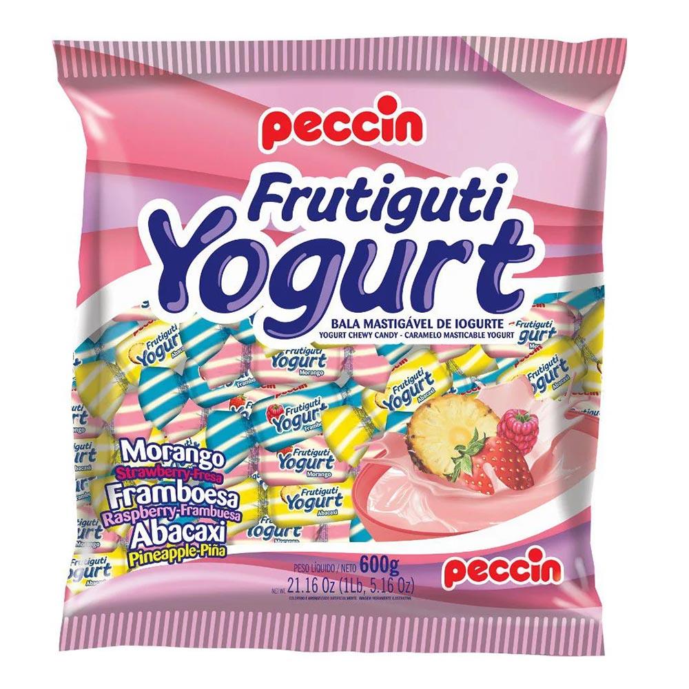 Bala Mastigável Frutiguti Yogurt - 600g