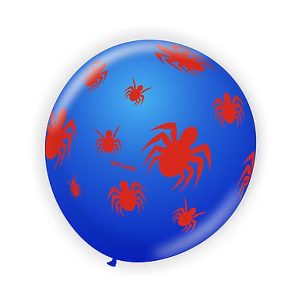 Balão Aranha Azul e Vermelho