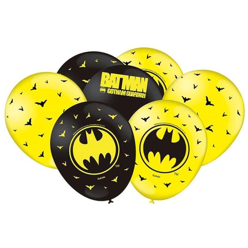 Balão Batman Geek - 9 Polegadas - 25 unidades