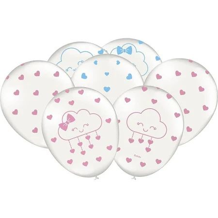 Balão Chuva de Amor - 9 Polegadas - 25 Unidades