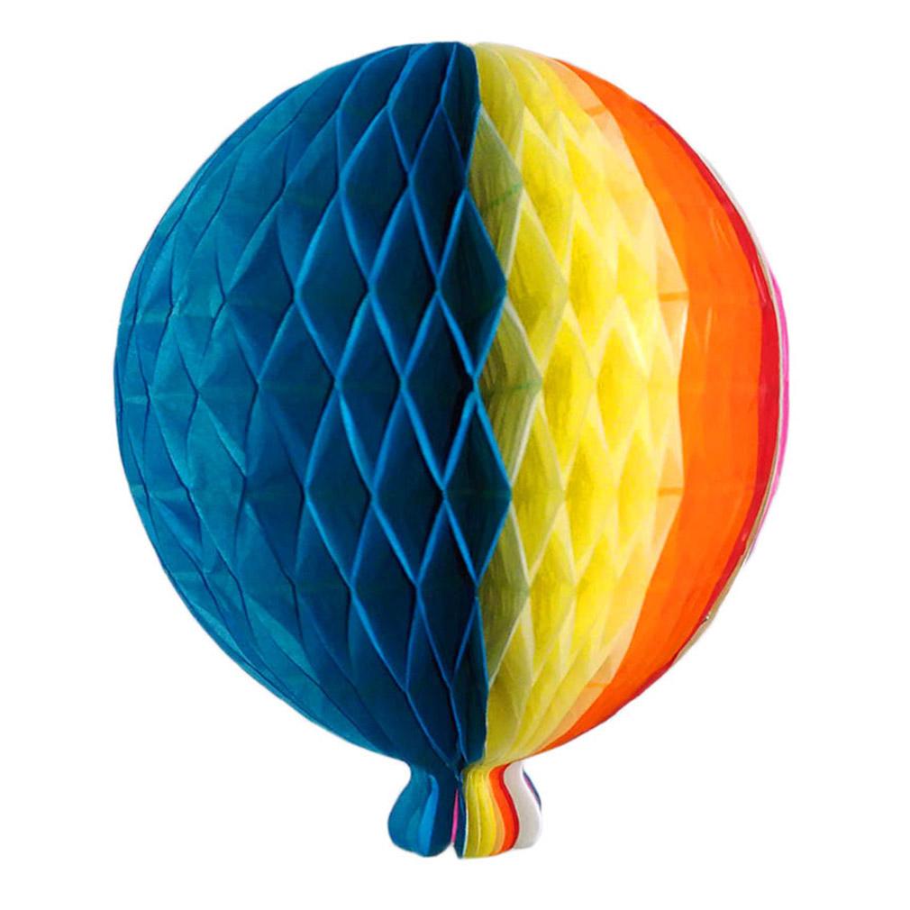 Balão Colmeia de Festa Junina - 18cm