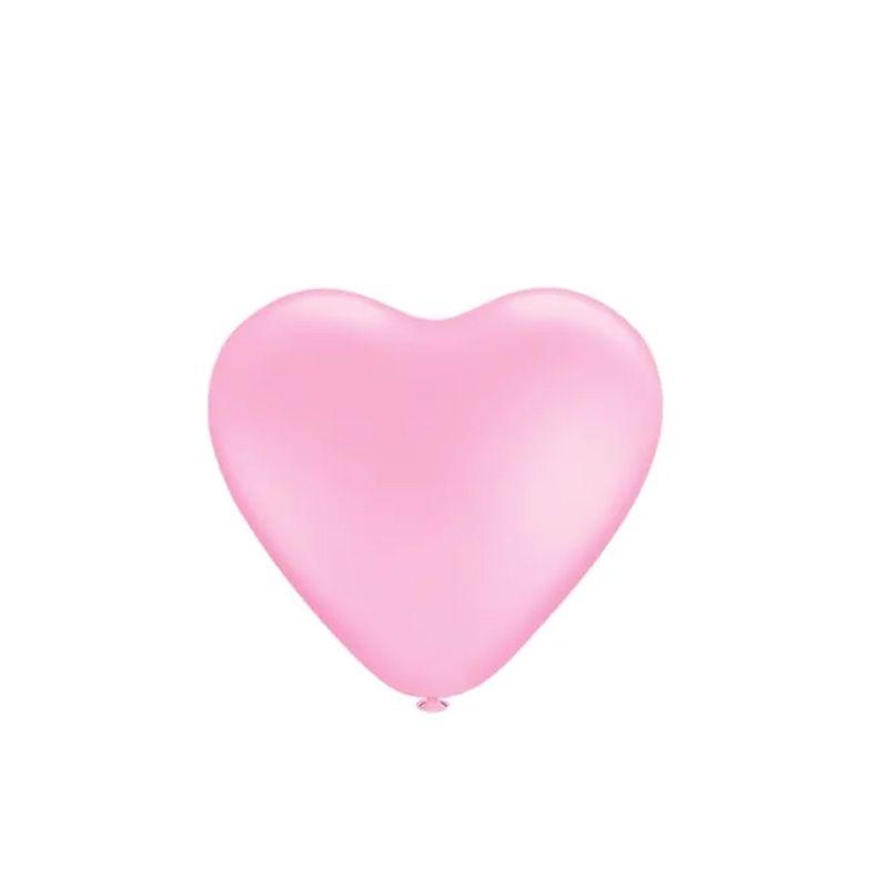 Balão Coração Rosa Nº6