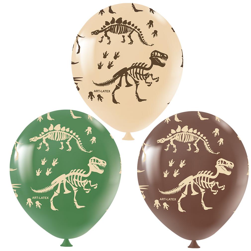 Balão Dinossauro Sortido - 11 Polegadas - 25 Unidades
