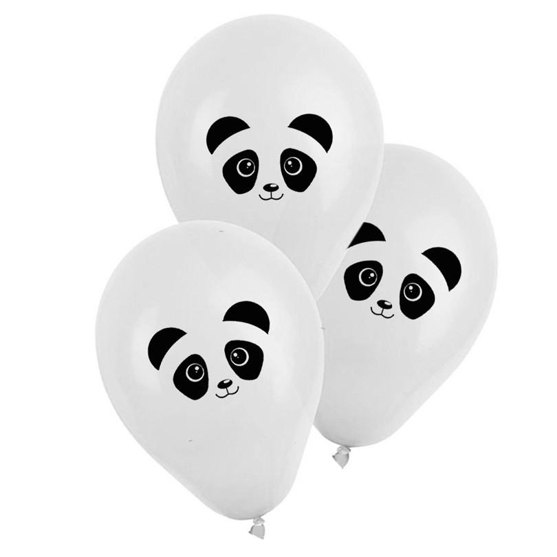 Balão Estampado Panda - 25 unidades