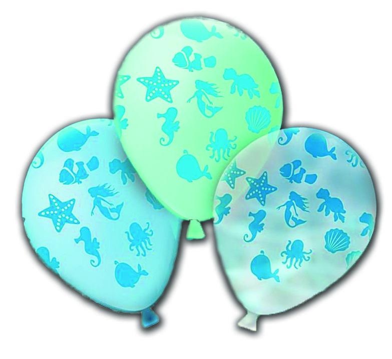 Balão Fundo do Mar Nº11 com 25un. - Happy Day