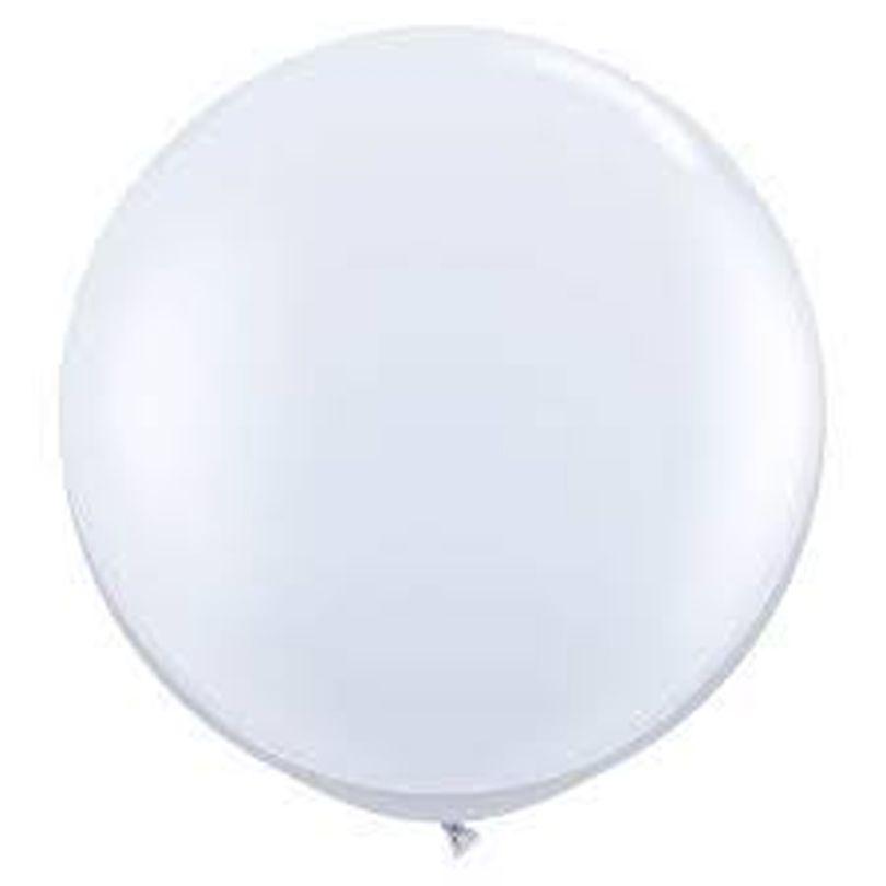 Balão Gigante Bexigão Branco N°250