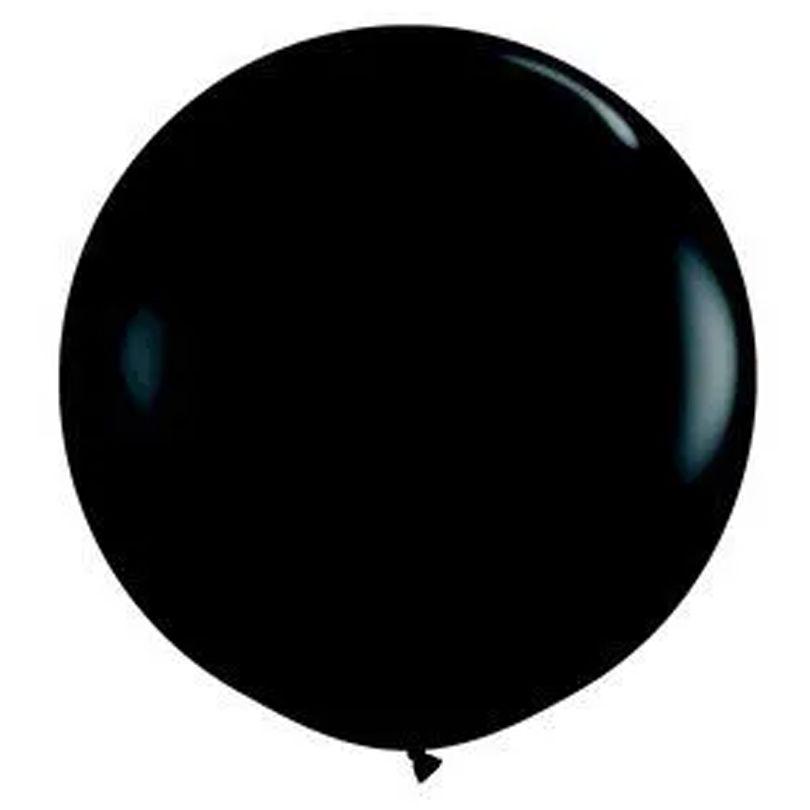 Balão Gigante Bexigão Preto N°250