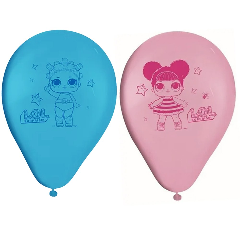 Balão Lol Surprise - 9 Polegadas - 25 Unidades