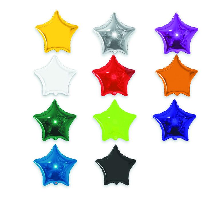 Balão Metalizado de Estrela