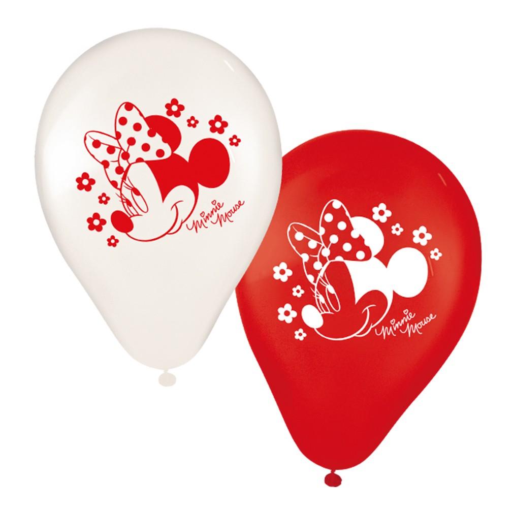 Balão Minnie - 9 Polegadas - 25 Unidades