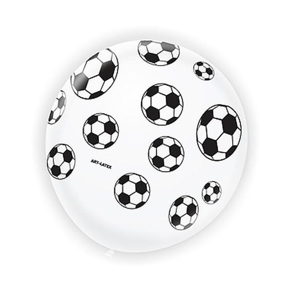 Balão Futebol com 25 unidades