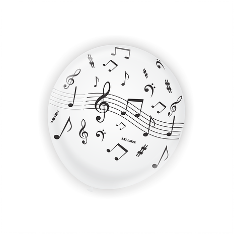 BALÃO NOTA MUSICAL