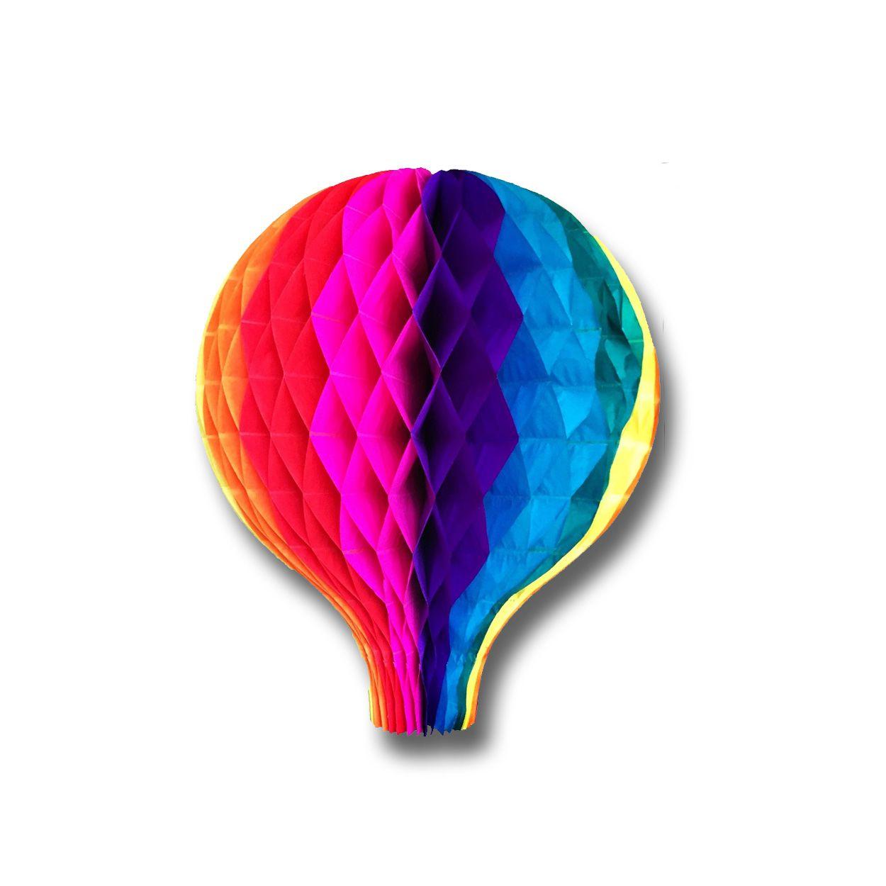 Balão Origami Junino
